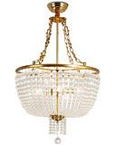 tanie Suknie wieczorowe-OBSESS® 6 świateł Lampy widzące Światło rozproszone Mosiądz polerowany Metal Kryształ, Antyrefleksyjny 110-120V / 220-240V Nie zawiera żarówek