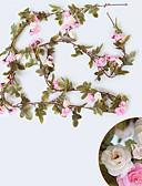 hesapli Gece Elbiseleri-Yapay Çiçekler 1 şube Pastoral Stil Güller Duvar Çiçeği