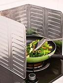 preiswerte Überbekleidung-aluminiumfolie küche kochen bratpfanne öl splash anti splatter schutzschild