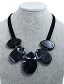 رخيصةأون ملابس ليلية نسائية-للمرأة قلادات السلسلة - راتينج الكورية, حلو, موضة أسود, أحمر قلادة مجوهرات من أجل حزب, الفالنتين