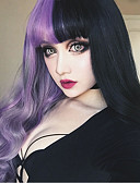 cheap Men's Exotic Underwear-Synthetic Wig kinky Straight Synthetic Hair Black Wig Women's Long Capless