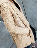 tanie Swetry damskie-Damskie Kaszmir Moda miejska Kaptur Flare rękawem Długie Kaszmir Solidne kolory Długi rękaw / Wiosna / Jesień