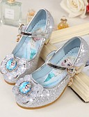 cheap Mechanical Watches-Girls' Shoes Microfibre Spring / Fall Tiny Heels for Teens Heels Bowknot for Purple / Blue / Pink