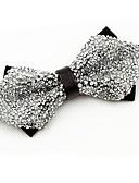 זול כובעים לנשים-עניבת פפיון - קריסטלים / אבנים נוצצות וינטאג' / מסיבה בגדי ריקוד גברים