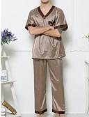 cheap Men's Underwear & Socks-Men's Suits Pajamas-Polka Dots,Polka Dot