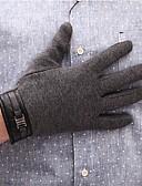 abordables Ropa interior para hombre exótica-Hombre Para dedos Guantes - Trabajo Un Color