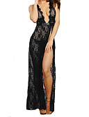 cheap Women's Lingerie-Women's Ultra Sexy Nightwear - Lace, Solid