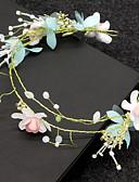 cheap Fashion Headpieces-Women's Floral Rhinestone Imitation Pearl Headband Classic Floral