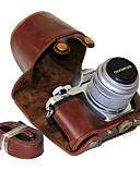 billige Trendy klokker-dengpin® PU lær kameraveske bag cover med skulderstropp for olympus e-m10 mark ii em10 mark2 (assorterte farger)