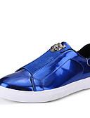 baratos Calças e Shorts Masculinos-Homens Fashion Boots Tule Primavera / Outono Tênis Respirabilidade Preto / Prata / Azul