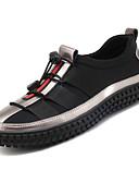 ieftine Pantaloni Bărbați si Pantaloni Scurți-Bărbați Pantofi PU Primăvară / Toamnă Confortabili Adidași Negru / Argintiu