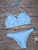 baratos Biquínis e Roupas de Banho Femininas-Mulheres Nadador Biquíni - Sólido