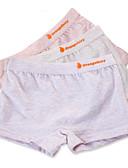 hesapli Kız Çocuk Kıyafet Setleri-3 Parça Çocuklar Genç Kız Basit Solid Pamuklu İç Çamaşırı ve Çoraplar Gri
