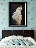 halpa Tanssiasusteet-Abstrakti Ihmiset Illustration Wall Art,PVC materiaali Frame For Kodinsisustus Frame Art Olohuone Makuuhuone Keittiö Ruokailuhuone Kids