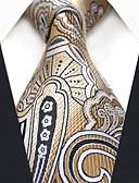 tanie Akcesoria dla mężczyzn-Męskie Praca / Podstawowy Krawat Geometric Shape / Kolorowy blok / Żakard