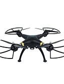 billige T-skjorter og singleter til herrer-RC Drone SJ  R / C T70CW 4 Kanal 2.4G Med HD-kamera 0.5MP 720P Fjernstyrt quadkopter En Tast For Retur / Sveve Fjernstyrt Quadkopter /