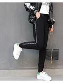 זול מכנסיים לנשים-בגדי ריקוד נשים כותנה מכנסי טרנינג מכנסיים אחיד / חורף