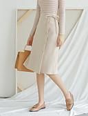 preiswerte Damen Röcke-Damen Ausgehen Stifte A-Linie Röcke - Solide