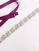 hesapli Balo Elbiseleri-Saten / Tül Düğün / Özel Anlar Kuşak İle Taşlı / İmistasyon İnci Kadın's Kuşaklar