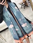 זול צעיפים אופנתיים-מלבן כותנה סגנון קלאסי קלסי ונצחי בגדי ריקוד נשים