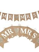 baratos Decorações para Casamento-Casamento / Festa / Noite Corda de cânhamo N/D Juta Decorações do casamento Tema Clássico / Tema vintage / Casamento Todas as Estações