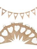 ieftine Voal de Nuntă-Nuntă / Party / Seara Cablu de cânepă N/A Jute Decoratiuni nunta Temă Clasică / Tema Vintage / Nuntă Toate Sezoanele