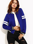 cheap Women's Blazers & Jackets-Women's Jacket - Solid Colored Stand