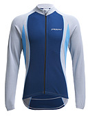 cheap Men's Pants & Shorts-Jaggad Men's Long Sleeve Cycling Jersey Bike Jersey, Thermal / Warm, Quick Dry, Breathable Polyester