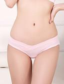 abordables Panties-Mujer Algodón Panti Modelador Un Color Media cintura / Invierno