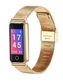 tanie Sportowy-Włącznik sterowany dotykiem Inteligentny zegarek YY-Y8 na Android iOS Bluetooth Pomiar ciśnienia krwi Spalonych kalorii Krokomierze Lokalizator Kontrola APP Pulsometr Krokomierz Rejestrator / Budzik