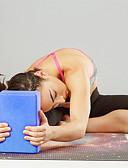 billige Herreundertøj og -sokker-Yogablok 1 pcs Høj densitet, Fugttæt, Letvægt, Lugtfri EVA Støtter og fordyber positurer, Hjæper på balance og fleksibilitet Til Pilates / Fitness / Træningscenter Grøn, Blå, Lys pink