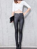 זול מכנסיים לנשים-צועד - אחיד פוליאוריתן צבע אחיד מותן בינוני בגדי ריקוד נשים