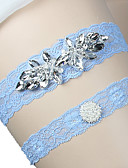 זול שמלות שושבינה-תחרה חתונה בירית חתונה  -  ריינסטון קשת סטאן ביריות בלון עיצוב מיוחד לחתונה חתונה מסיבת החתונה