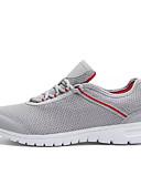 ieftine Tricou Bărbați-Bărbați Plasă de Aerisire Primăvară / Toamnă Confortabili Adidași de Atletism Plimbare Negru / Gri / Rosu