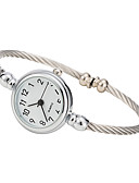 cheap Quartz Watches-Women's Fashion Watch Casual Watch Alloy Band Elegant / Minimalist Silver