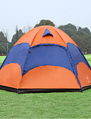 cheap Women's Dresses-Sheng yuan 5 person Screen Tent Double Layered Poled Dome Camping Tent Outdoor Anti-Insect, Breathability, Oversized for Hiking / Camping 1500-2000 mm Polyester, Oxford 240*240*135 cm