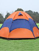 olcso Koktélruhák-Sheng yuan 5 fő Szabadtéri Mrežasti šator Vízálló Lélegzési képesség Az ultraibolya-rezisztens Rovartaszító Rúd Design-ideális kanapé Kupola Egy szoba Kétrétegű 1500-2000 mm Kemping sátor mert