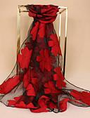 cheap Fashion Scarves-Women's Lace Rectangle - Floral Lace