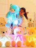 baratos Vestidos de Mulher-Romance / Urso Teddy / Criativo Animais de Pelúcia Adorável LED Silicone Dom