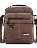 cheap Men's Exotic Underwear-Men's / Unisex Bags Canvas Shoulder Bag Zipper Brown / Army Green / Khaki