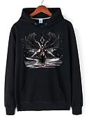 billige Hættetrøjer og sweatshirts til herrer-Herre Langærmet Hætte Hattetrøje - Ensfarvet