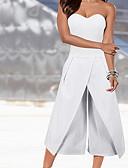 זול מכנסיים לנשים-דפוס, אחיד - סרבלים בסיסי בגדי ריקוד נשים