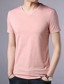 ieftine Maieu & Tricouri Bărbați-Bărbați Tricou Mată De Bază