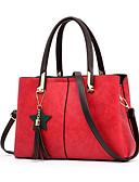 cheap Women's Nightwear-Women's Bags PU Tote Tassel Blushing Pink / Gray / Brown