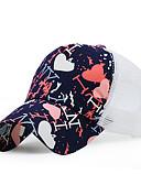 זול כובעים אופנתיים-כובע שמש כובע בייסבול - קולור בלוק כותנה עבודה יוניסקס