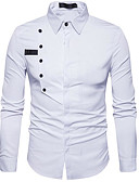 cheap Men's Shirts-Men's Shirt - Geometric Classic Collar / Long Sleeve