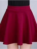povoljno Ženske hlače i suknje-Žene Olovka Slatko Suknje - Jednobojni