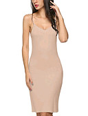 cheap Women's Dresses-Women's Basic Cotton Bodycon Dress - Solid Colored Strap