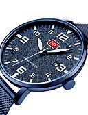 cheap Sport Watches-MINI FOCUS Men's Casual Watch Japanese Quartz Black / Blue / Silver Calendar / date / day Noctilucent Casual Watch Analog Fashion - Blue Black / White Black / Rose Gold