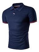 ieftine Maieu & Tricouri Bărbați-Bărbați Guler Cămașă Polo Sport Mată